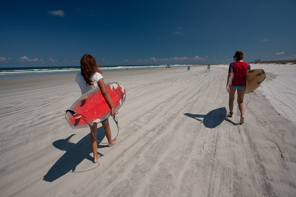 Daytona Beach Surfing
