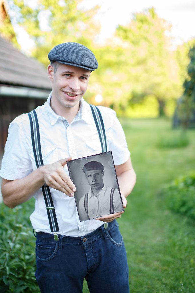 Jürgen - Tintype - Nassplatte
