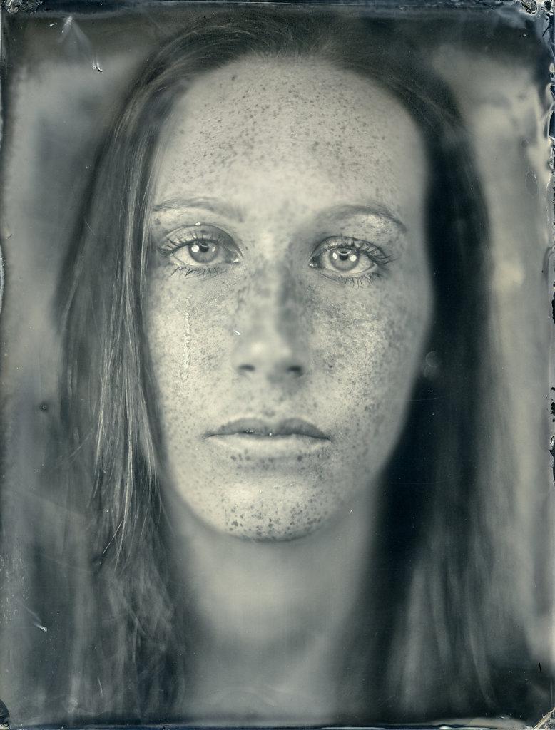 Anna - Tintype - Nassplatte