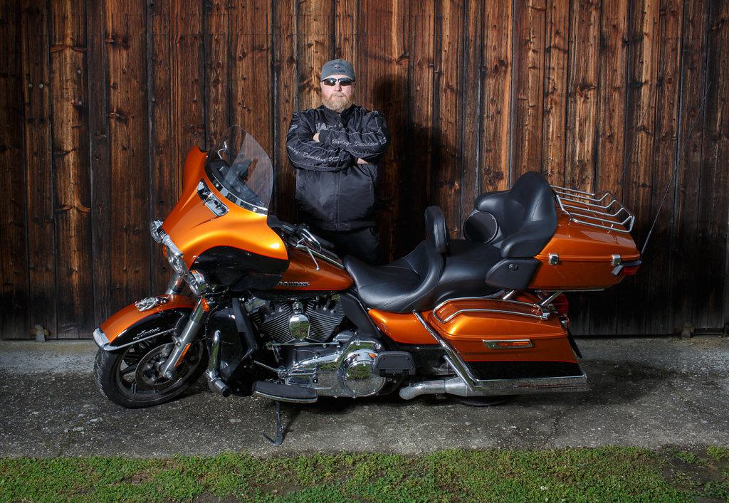 Harley Davidson Man