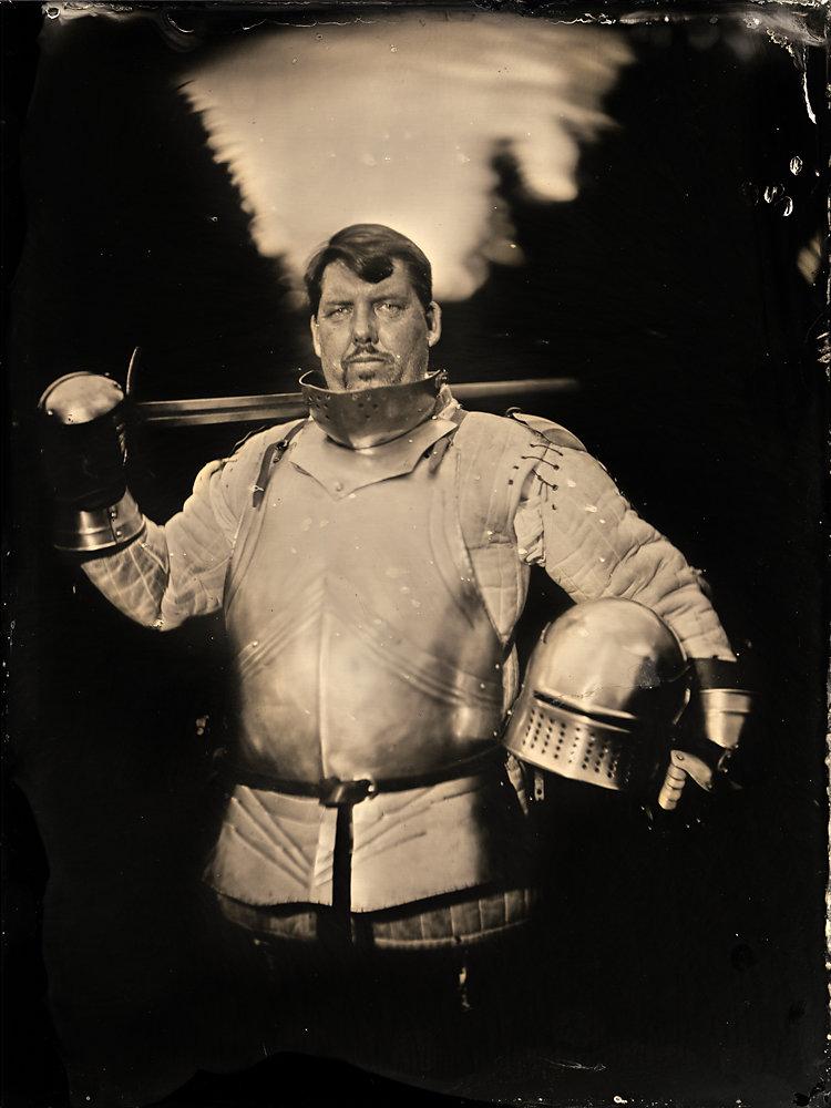 mittelalterlichen Schwertkämpfer
